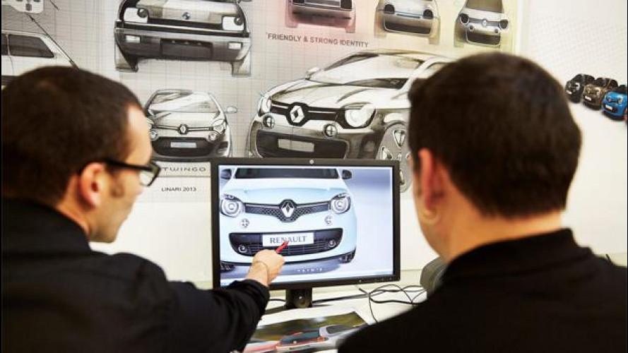 La Renault Twingo è uguale alla Fiat 500? La parola al designer