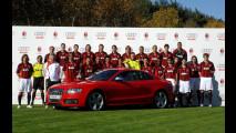 Il Milan viaggia ancora in Audi