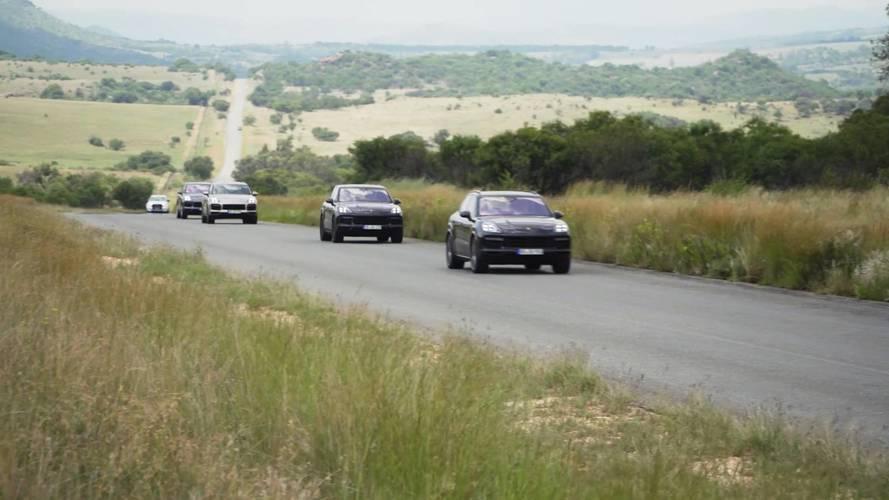 Teaser Porsche Cayenne E-Hybrid 2018
