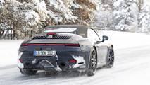 2019 Porsche 911 Cabrio new spy photo