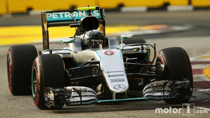 F1 - Rosberg résiste au retour de Ricciardo à Singapour et reprend la tête du championnat
