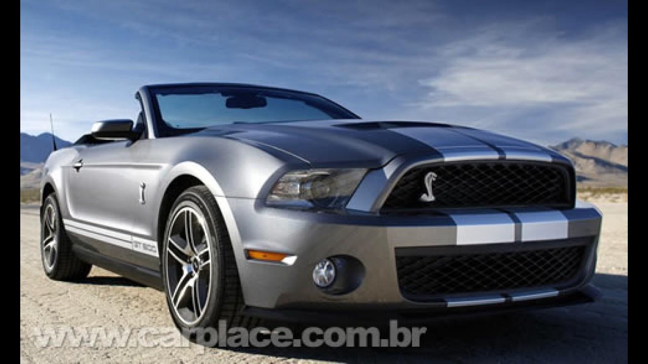Preço definido nos Eua: Ford Mustang 2010 tem preço inicial de US$ 21 mil