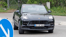 Makyajlı Porsche Macan casus fotoğraflar
