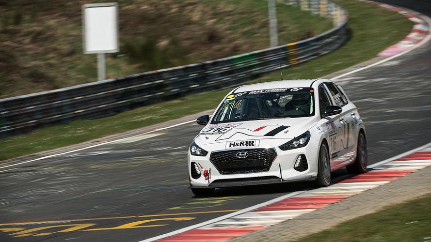Hyundai i30 N - Séance d'entrainement sur le Nürburgring