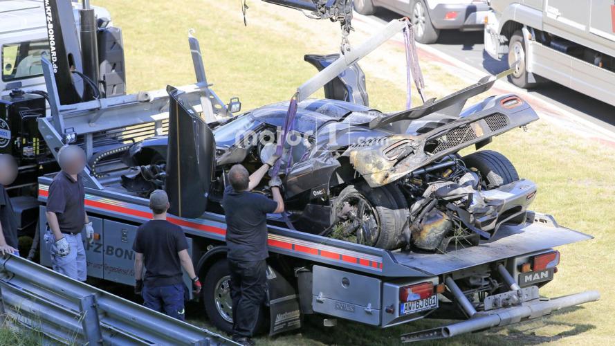 Les causes du crash de la Koenigsegg One:1 au Nürburgring révélées