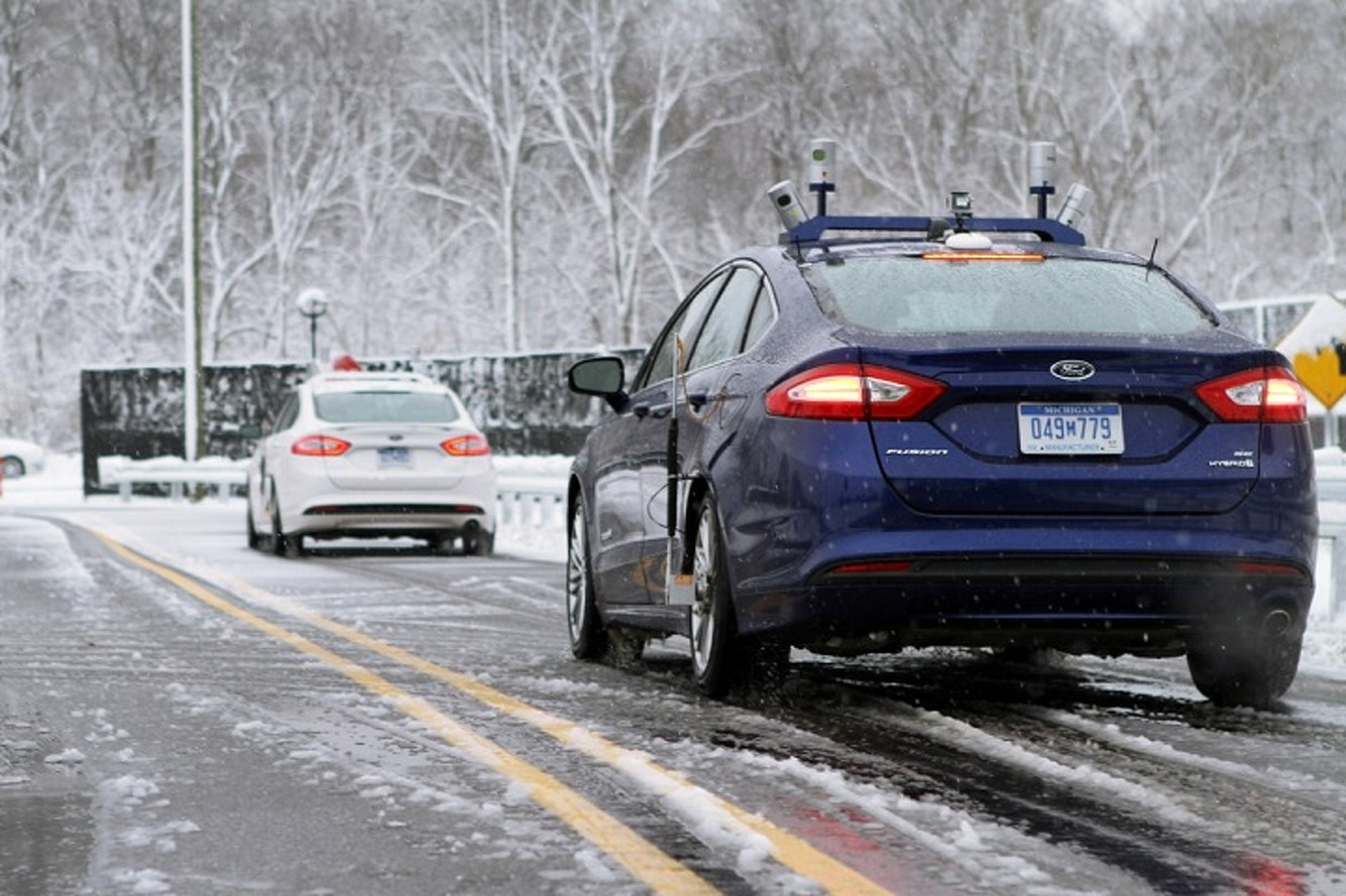 Ford is Testing Autonomous Cars in the Snow