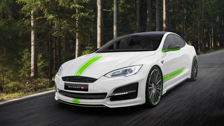 Mansory gives the Tesla Model S an aggressive styling package