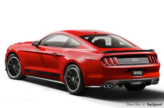 2015 Ford Mustang Mach 1 Imagined