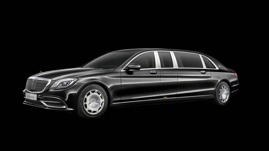 New Mercedes Maybach is the perfect sinister limo