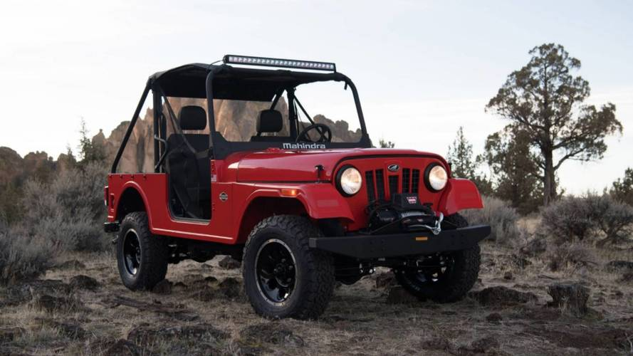 FCA Wants To Block Mahindra From Selling Jeep Lookalike In U.S.