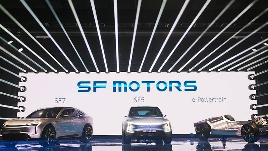 SF Motors Reveals Two New Long-Range Electric SUV Concepts