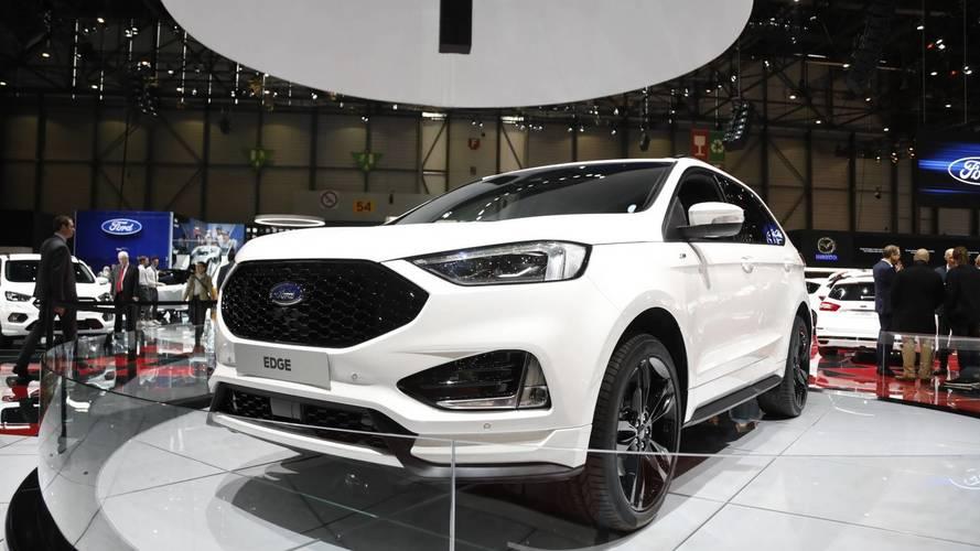 Ford Edge ST Line at the 2018 Geneva Motor Show