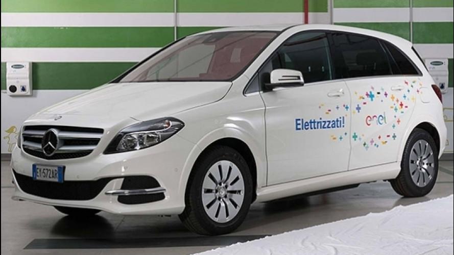 Mercedes Classe B Electric Drive Enel Edition, speciale per la flotta