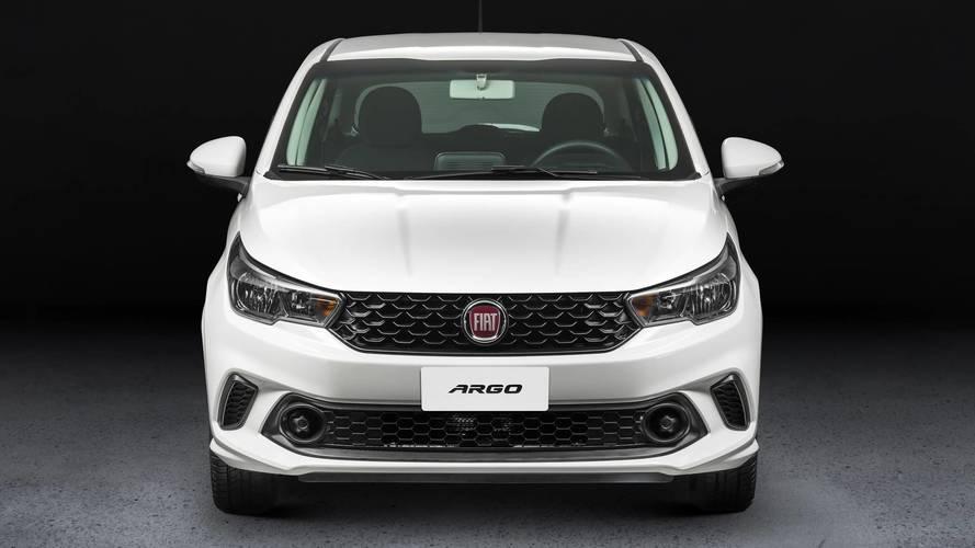 Fiat Argo ganha versão mais barata por R$ 44.990
