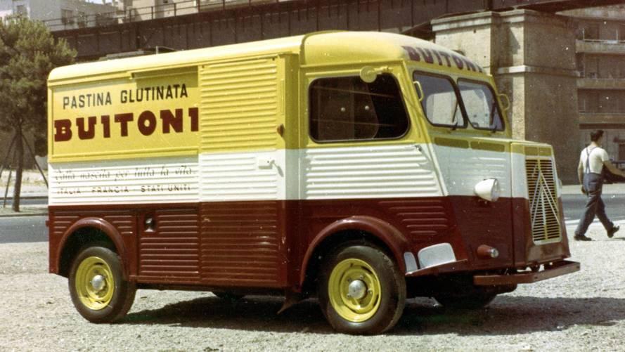 PHOTOS - Citroën Type H, l'ami des travailleurs
