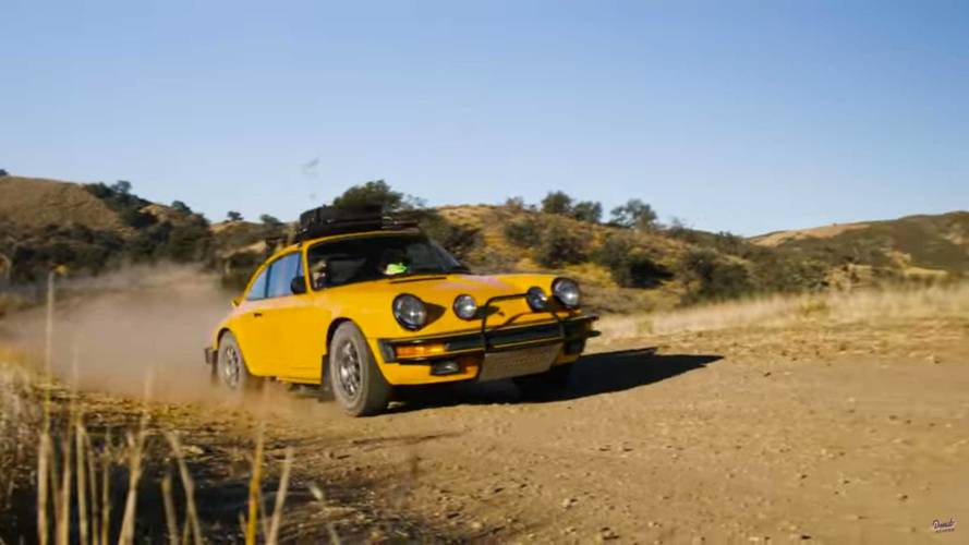 Rally-Spec Porsche 911 Doesn't Mind Getting A Little Bit Dirty