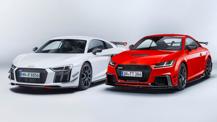 Nouveaux kits Audi Sport pour les R8 et TT!