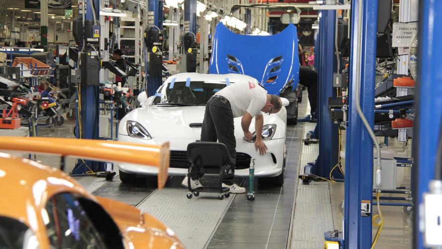 Dodge Viper à l'usine de Conner Avenue