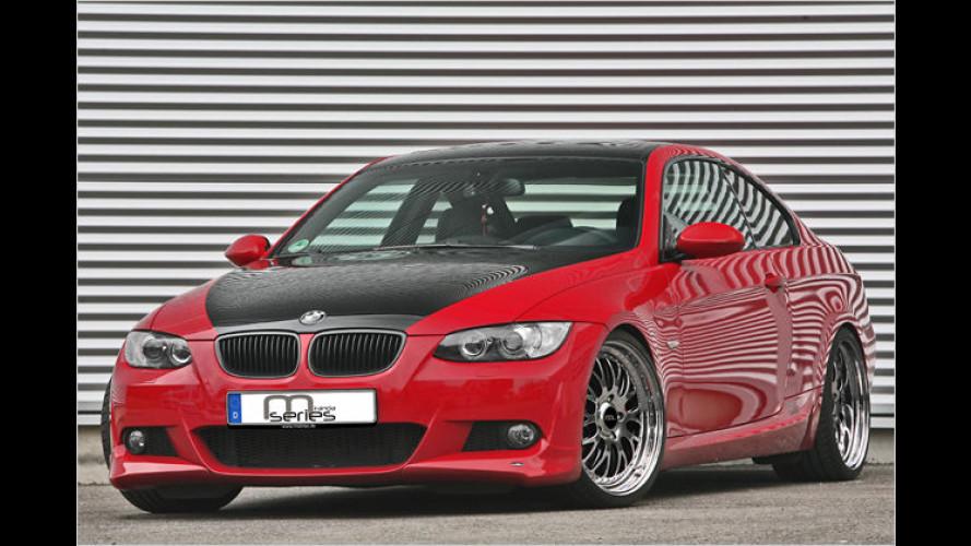 Auf besonders großem Fuß: BMW 3er-Coupé von Miranda