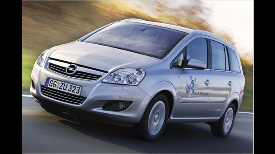 Opel Zafira ecoFlex-Turbo: Jetzt steht der Preis fest