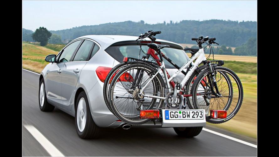 Neuer Fahrradträger: Opels ,einzigartiges Transportsystem