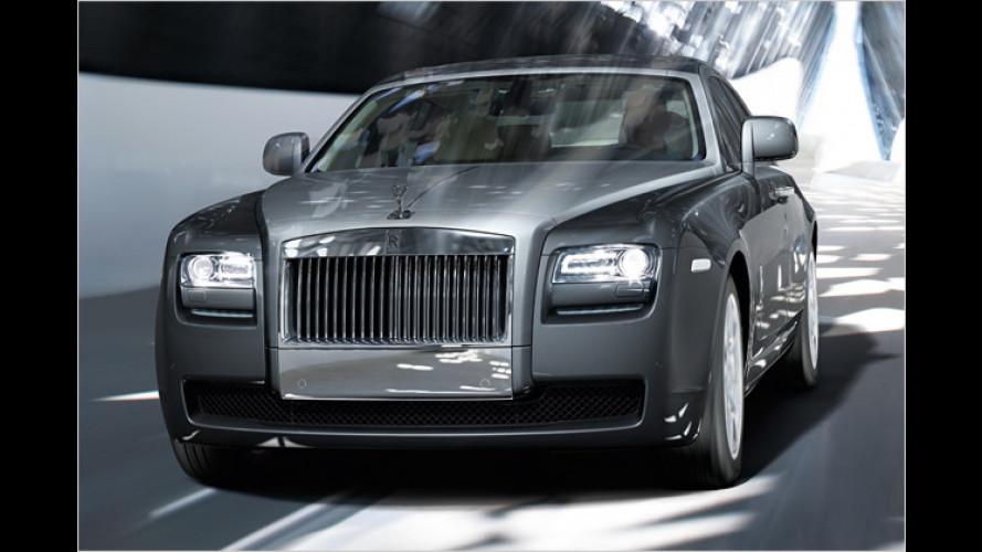 Sports-Geist: Rolls-Royce stellt den neuen Ghost vor
