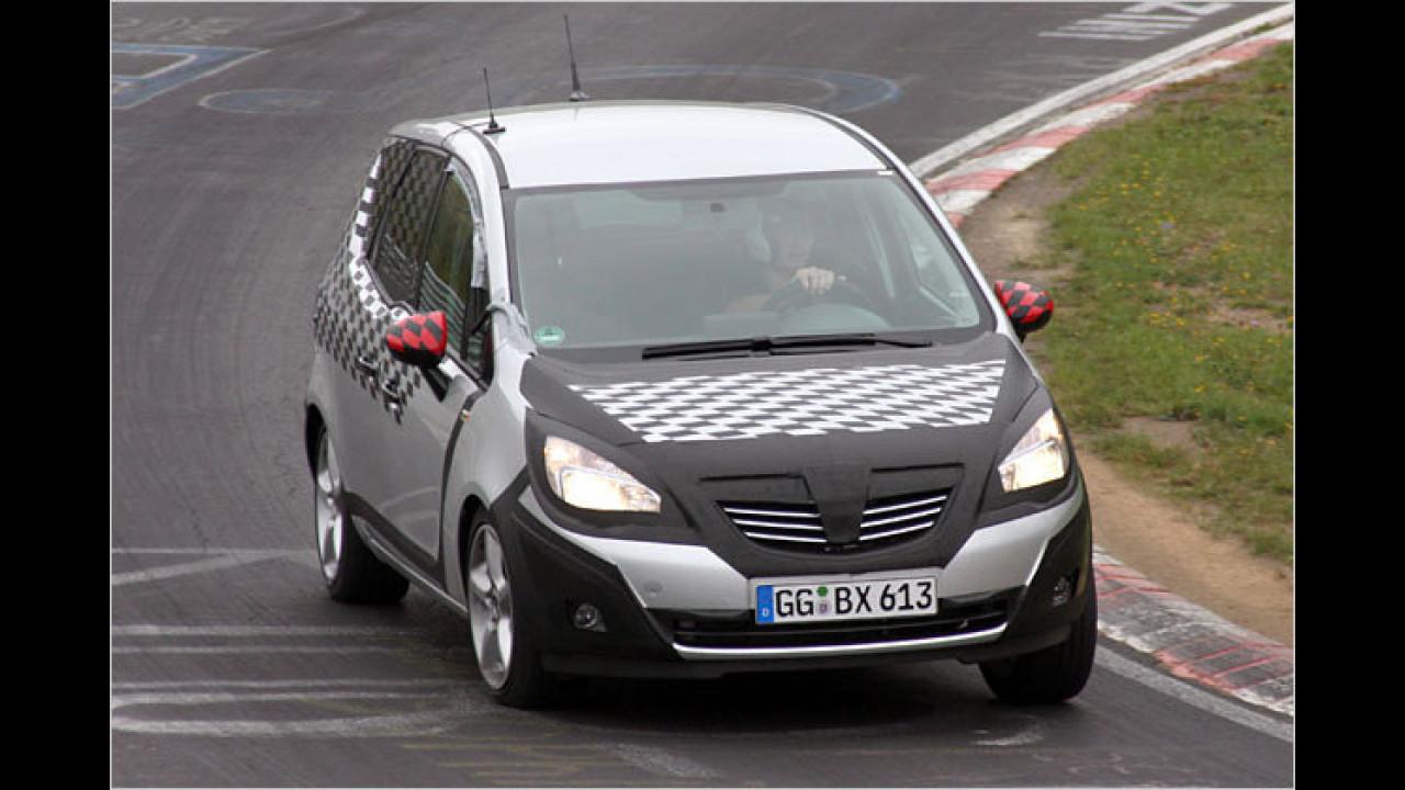 Erwischt: Opel Meriva