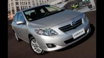 Toyota anuncia Recall do Corolla no Brasil para do substituição do sistema de partida a frio.
