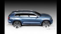 Volkswagen apresentará crossover-conceito de sete lugares no Salão de Detroit
