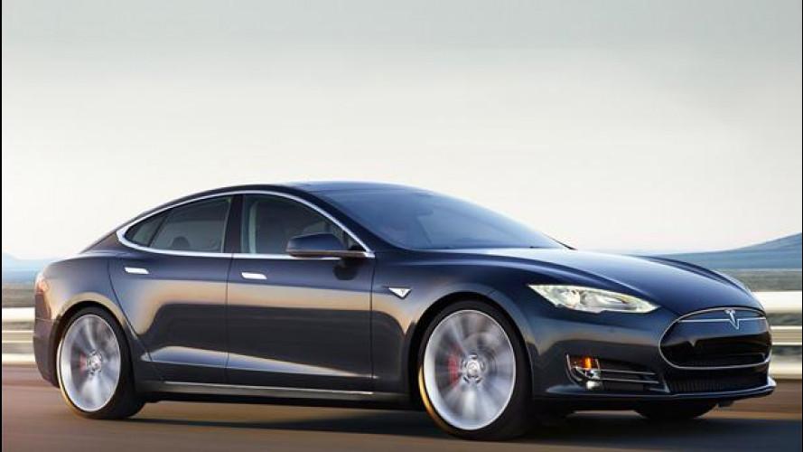Tesla Model S D, elettrica 4x4 con 442 km di autonomia