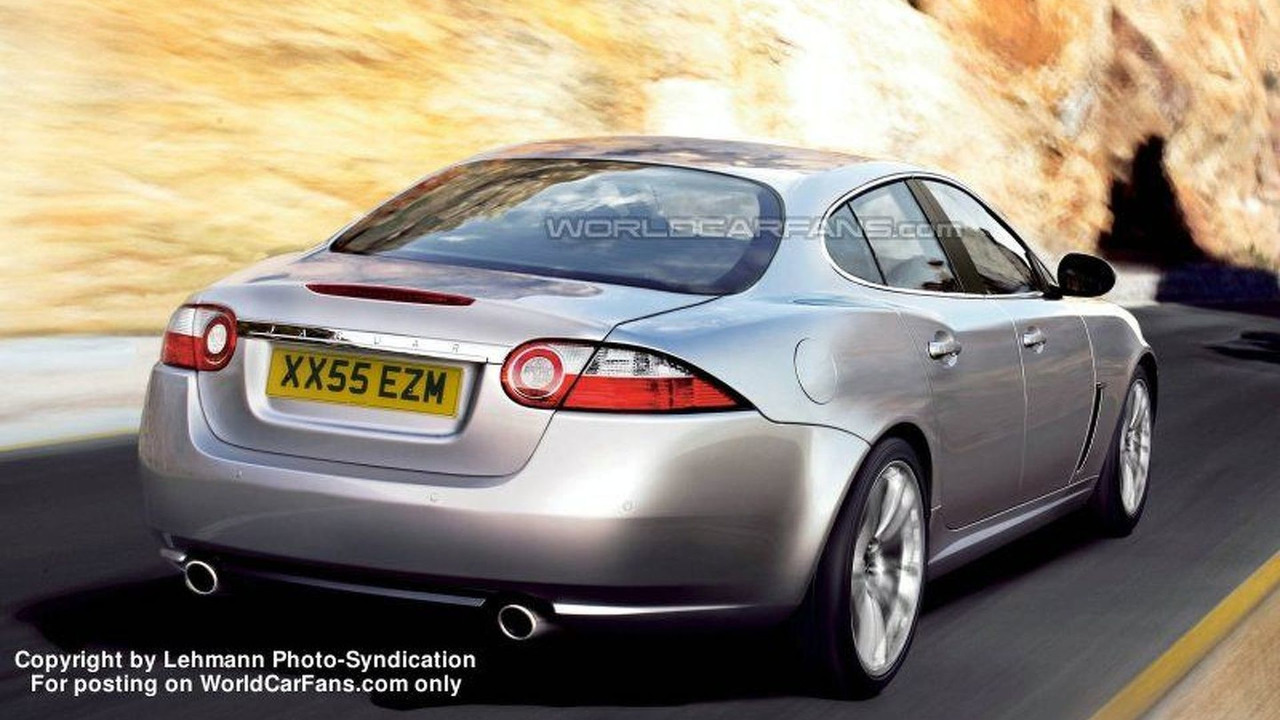 Jaguar XF artists interpretation