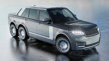 Range Rover Superyacht Land Tender