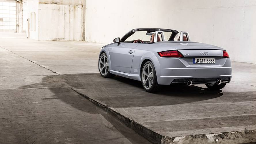 Audi TT, restyling 2018