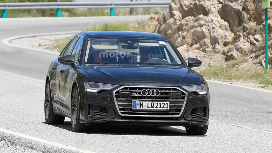 Audi S6 tamamen kamuflajsız görüldü