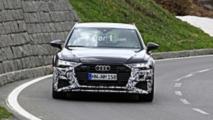 Audi RS 6 Avant Photos espion