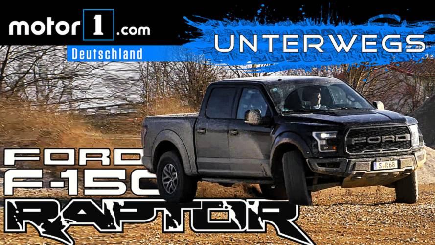 Das beste Auto der Welt?!: Ford F-150 Raptor | UNTERWEGS mit Daniel Hohmeyer
