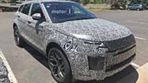 Range Rover Evoque Interior Spy Photos