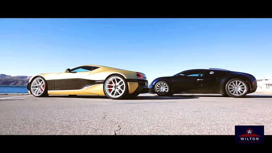 Elektrik ve petrolün savaşı: Rimac vs Veyron