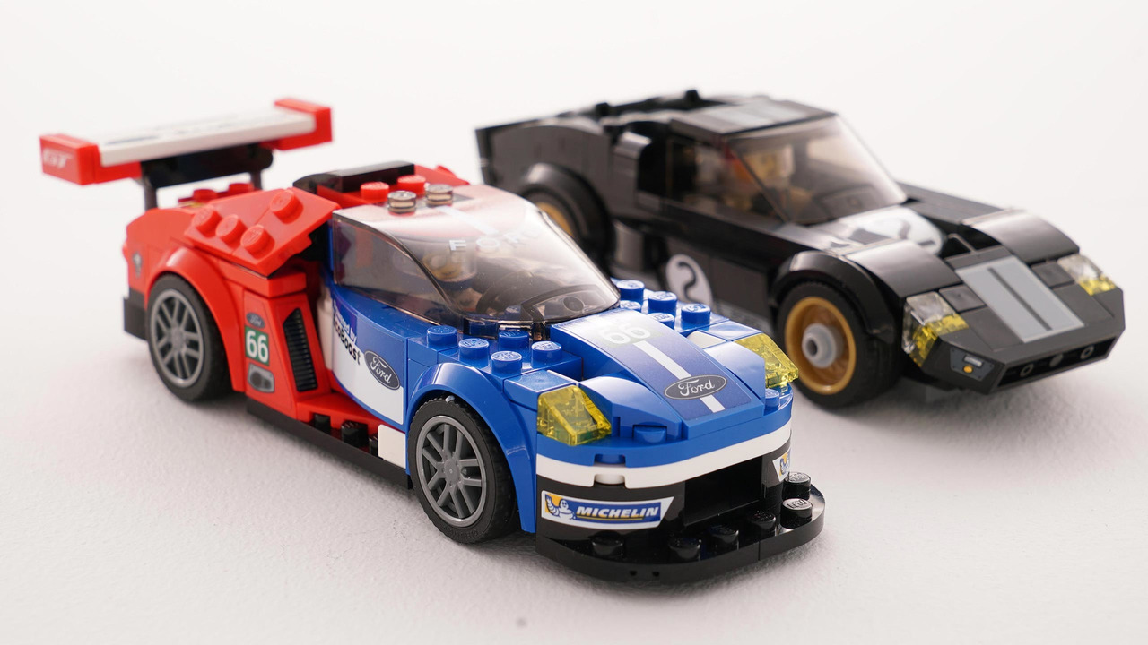 Ford Gt And Gt Lego Sets
