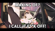 Opel Grumpy Cat ve Georgia May Jagger takvimi