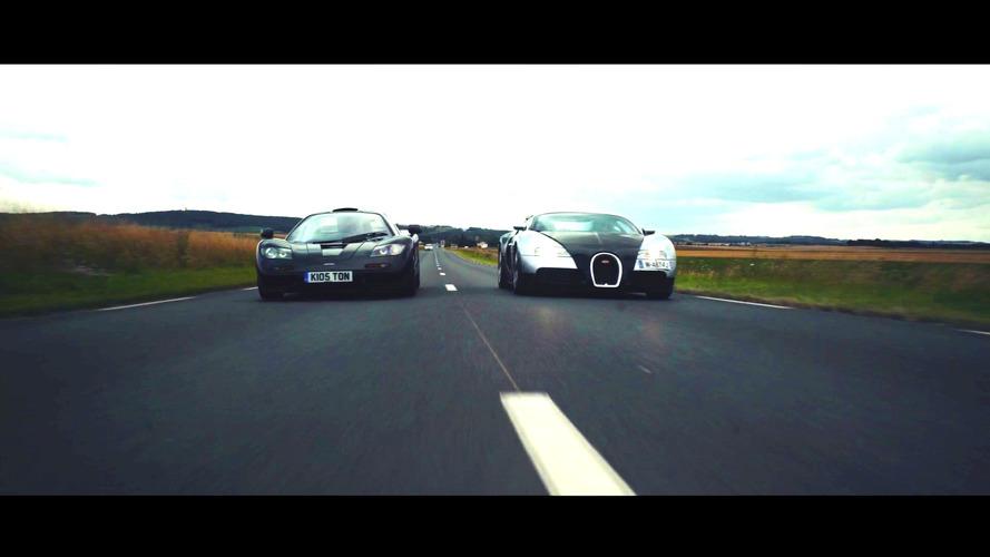 İki çok farklı süper otomobilin karşılaşması: McLaren F1 ve Bugatti Veyron