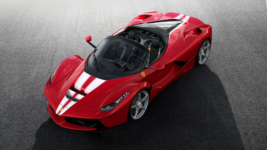 Last LaFerrari Aperta Sold For Almost $10M At Auction [UPDATE]
