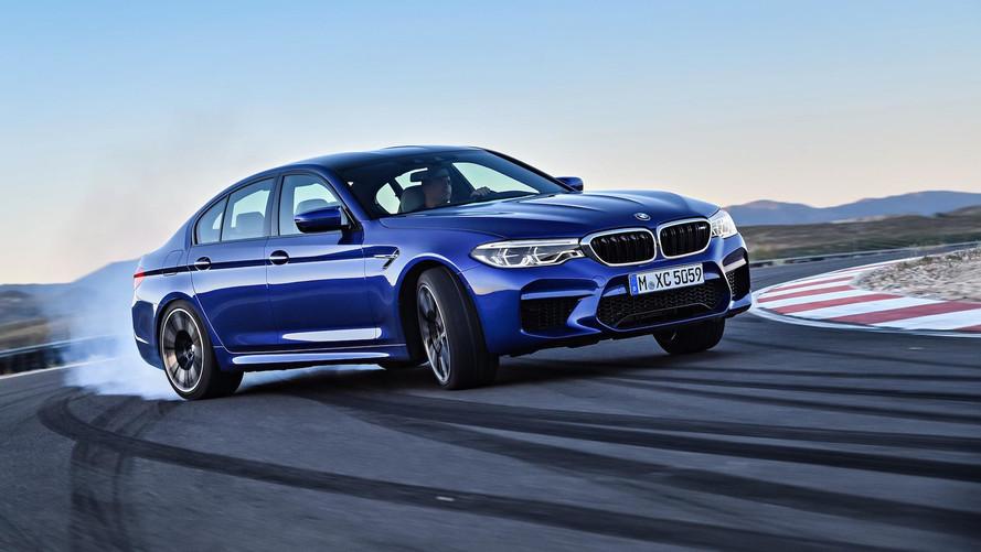 El BMW M5 2018 (y sus 600 CV), en acción
