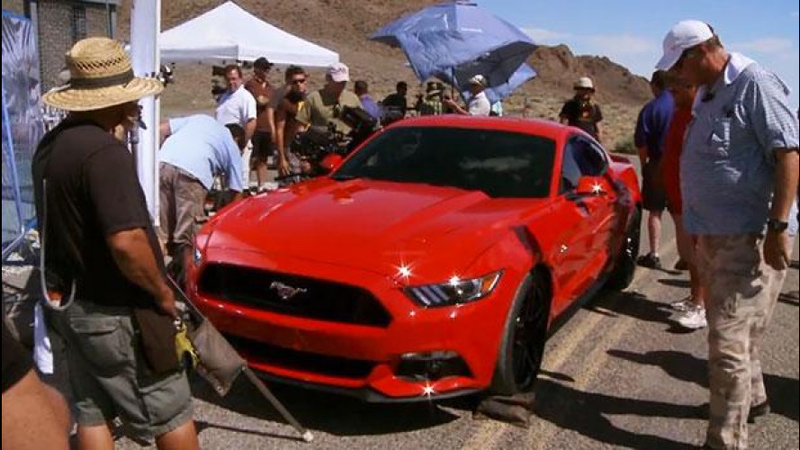 La nuova Ford Mustang si scalda per Need For Speed