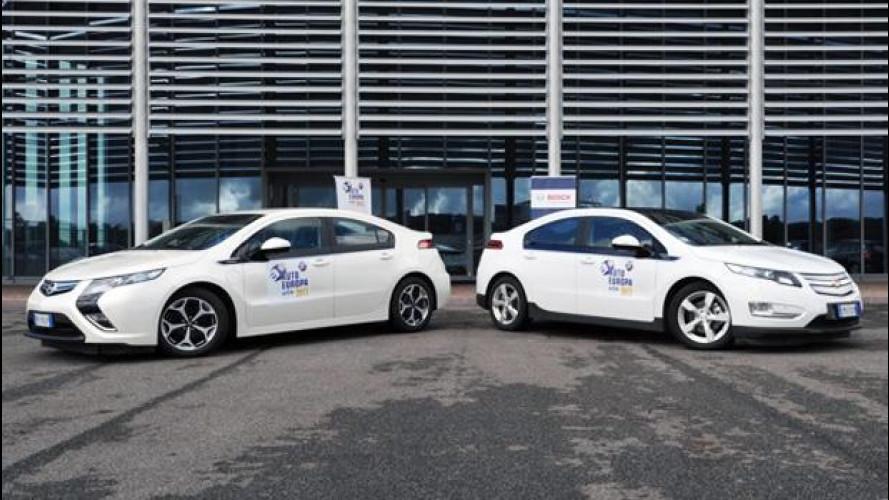 Opel Ampera e Chevrolet Volt vincono il Green Gold Award 2013