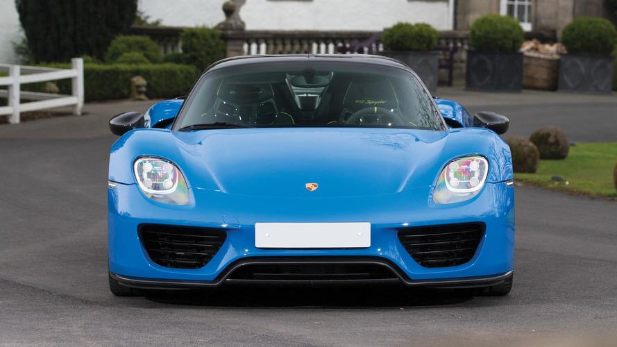 Porsche rappelle une nouvelle fois la 918 Spyder