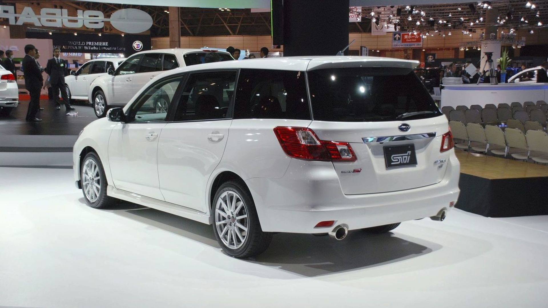Subaru Exiga 2 0GT Tuned by STI Revealed in Tokyo