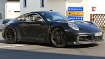Next Porsche 911 GTS Spy Photos