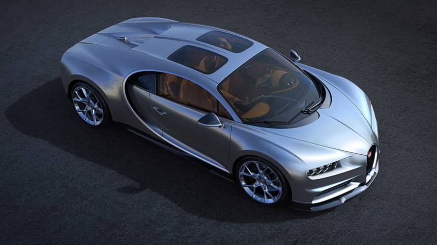 Bugatti Chiron's New Sky View Roof Looks Cool, Adds Headroom
