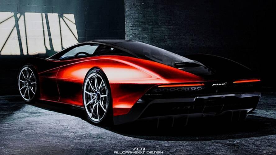 Renderképen a McLaren Speedtail várható megjelenése
